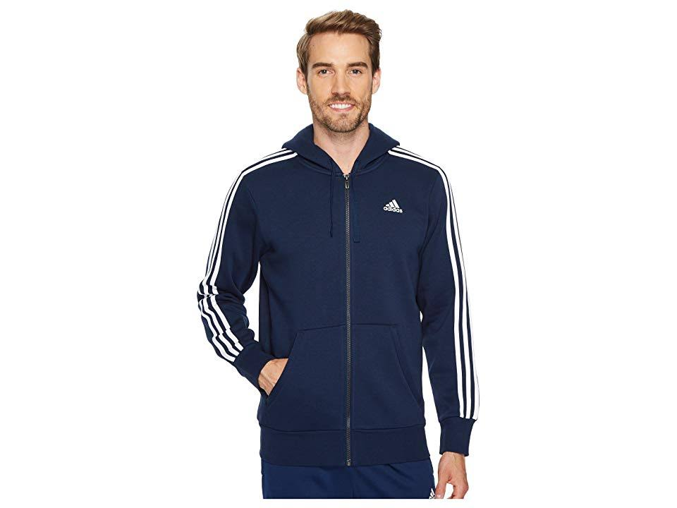 Tamaño Para Zip Hoodie Hombre Stripes Full Adidas M Essentials 3 60SYYg