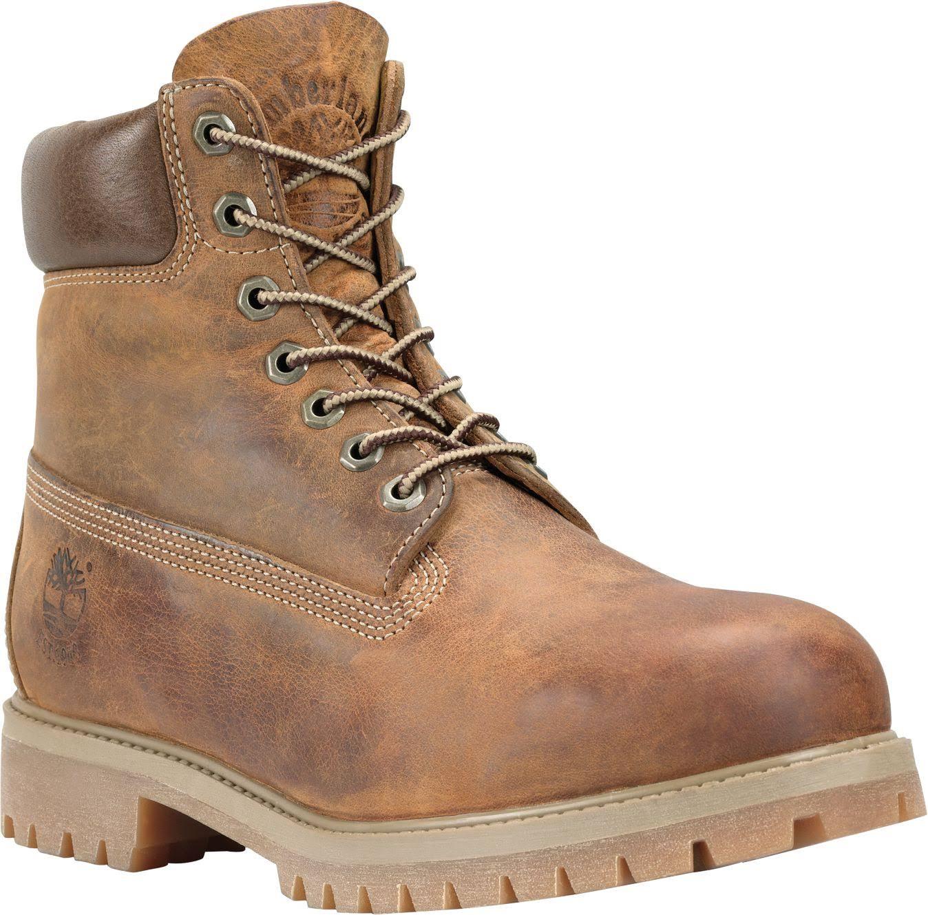 Boot Timberland 40 Heritage Eu 6 In Burntorangewornoiled Wide Premium WH2DYIE9