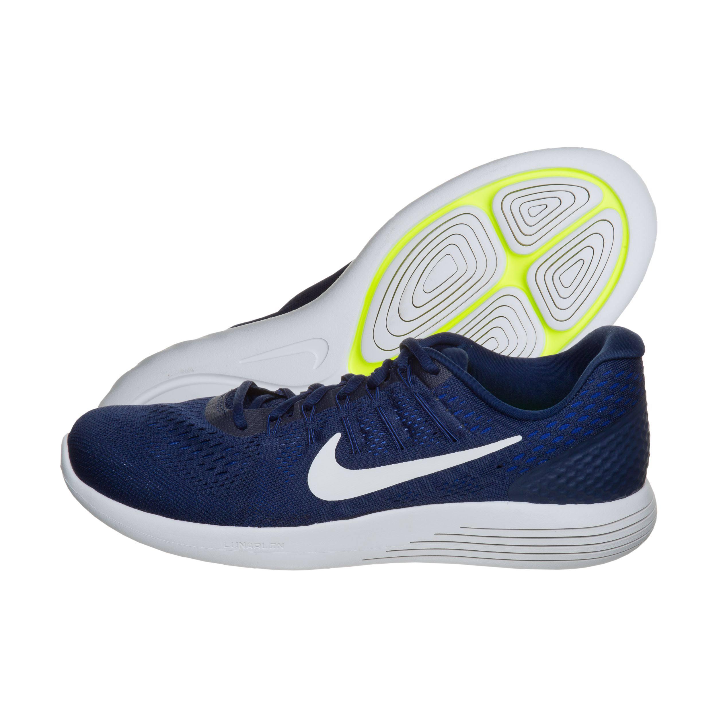 White black Nike 404 843725 Weiss Lunarglide summit Marineblau Blue Binary 8 wBrUvwz