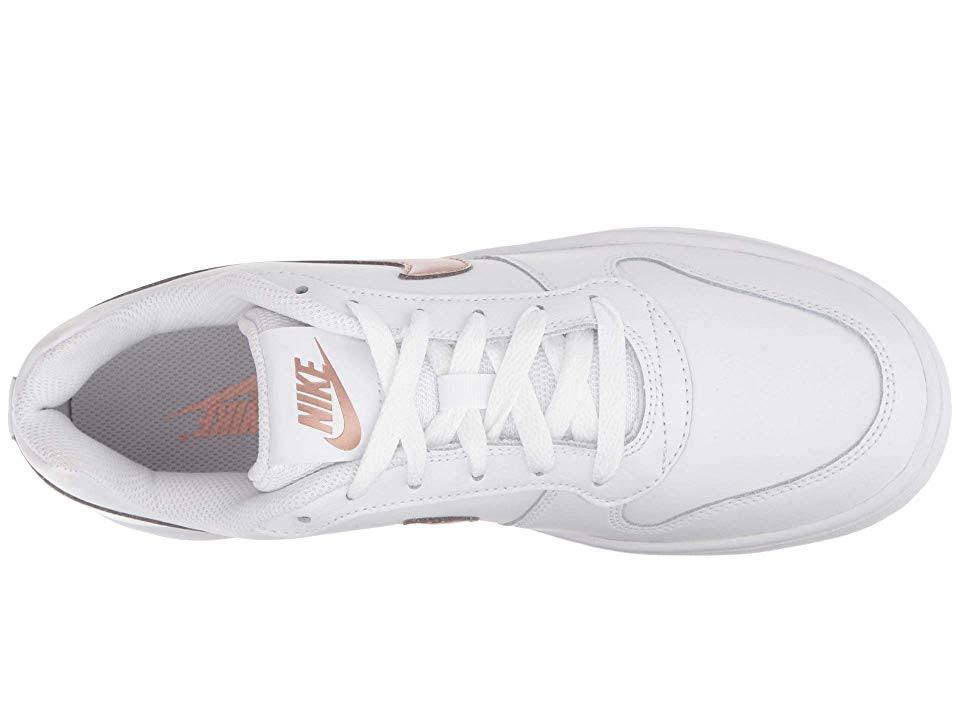 Metálico Para Low B Rojo Bronce Blanco Nike Mediano Ebernon 5 Mujer Zapatos 5TxqqYtv
