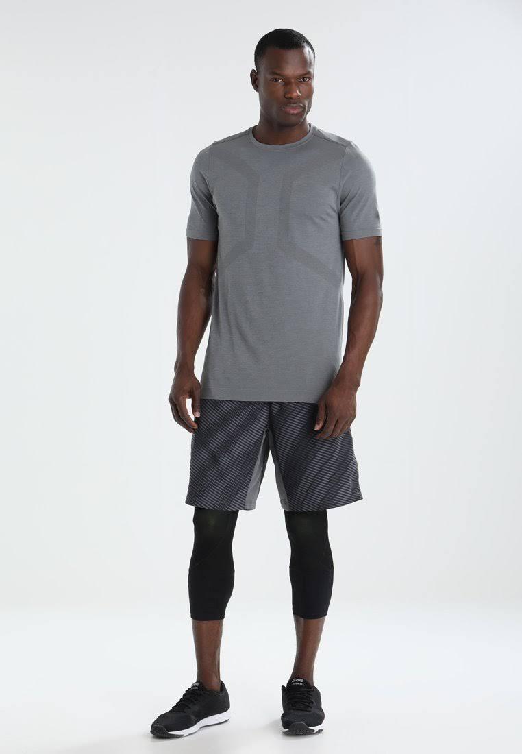 Carbon Shirt Grau Sports Asics Seamless Klein Größe Herren qPpwO