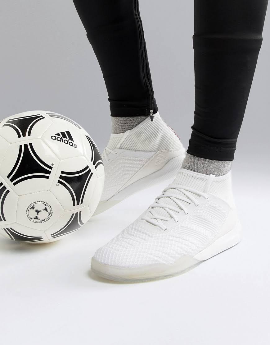 Deporte De Zapatillas 18 Para 9 Blanco Hombre Tango Adidas 5 Predator Hombre 3 10½ Tamaño qp55drx1