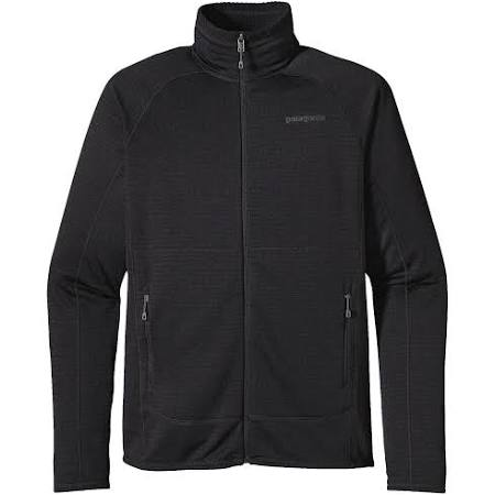 Zip Patagonia Hombres Negro large Full Jacket R1 twvnqpHw