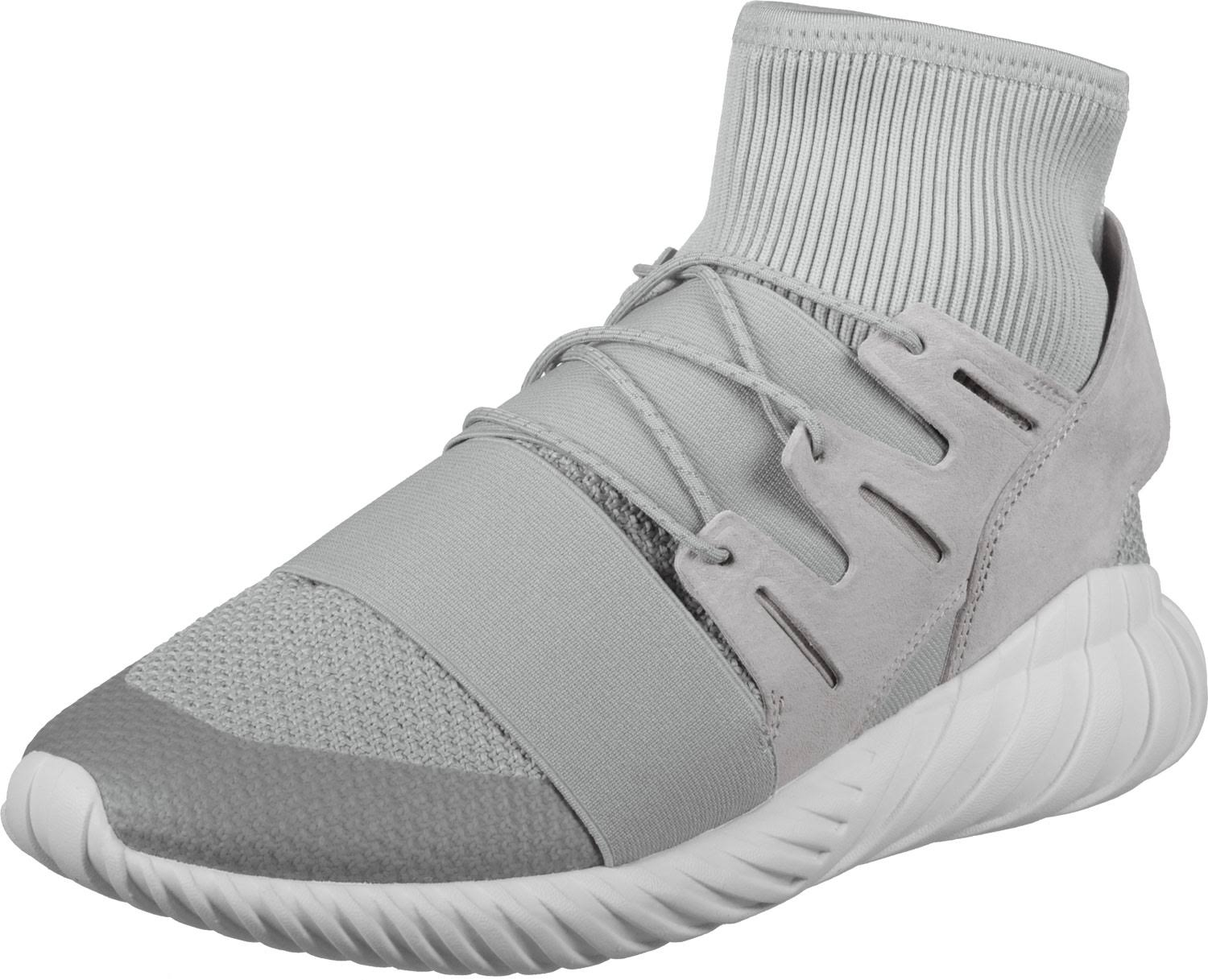 adidas Tubular Doom Winter shoes Men grey Gr.46,0 EU