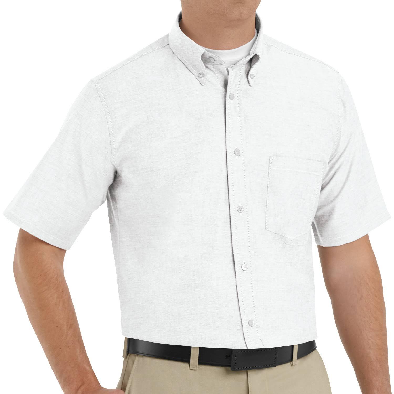 Executive Blanco Camisa 5 Sr60 Kap Vestir Oxford De 19 Red wHESOxq