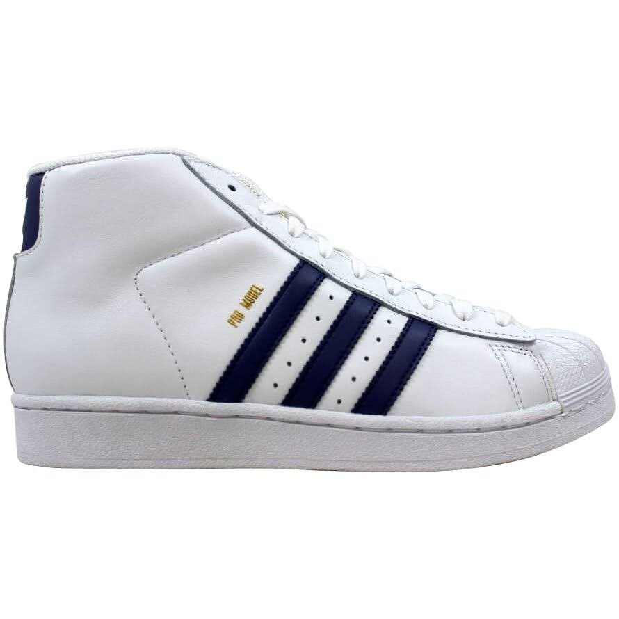 (5) Adidas Pro Model J White/Super Purple/Gold CQ0624 Grade-School