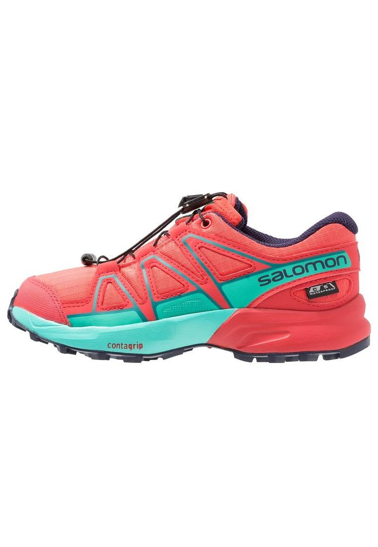Red Kids Cs Salomon Orange blue Wp Blue Shoes Speedcross Running 37 z0B4x