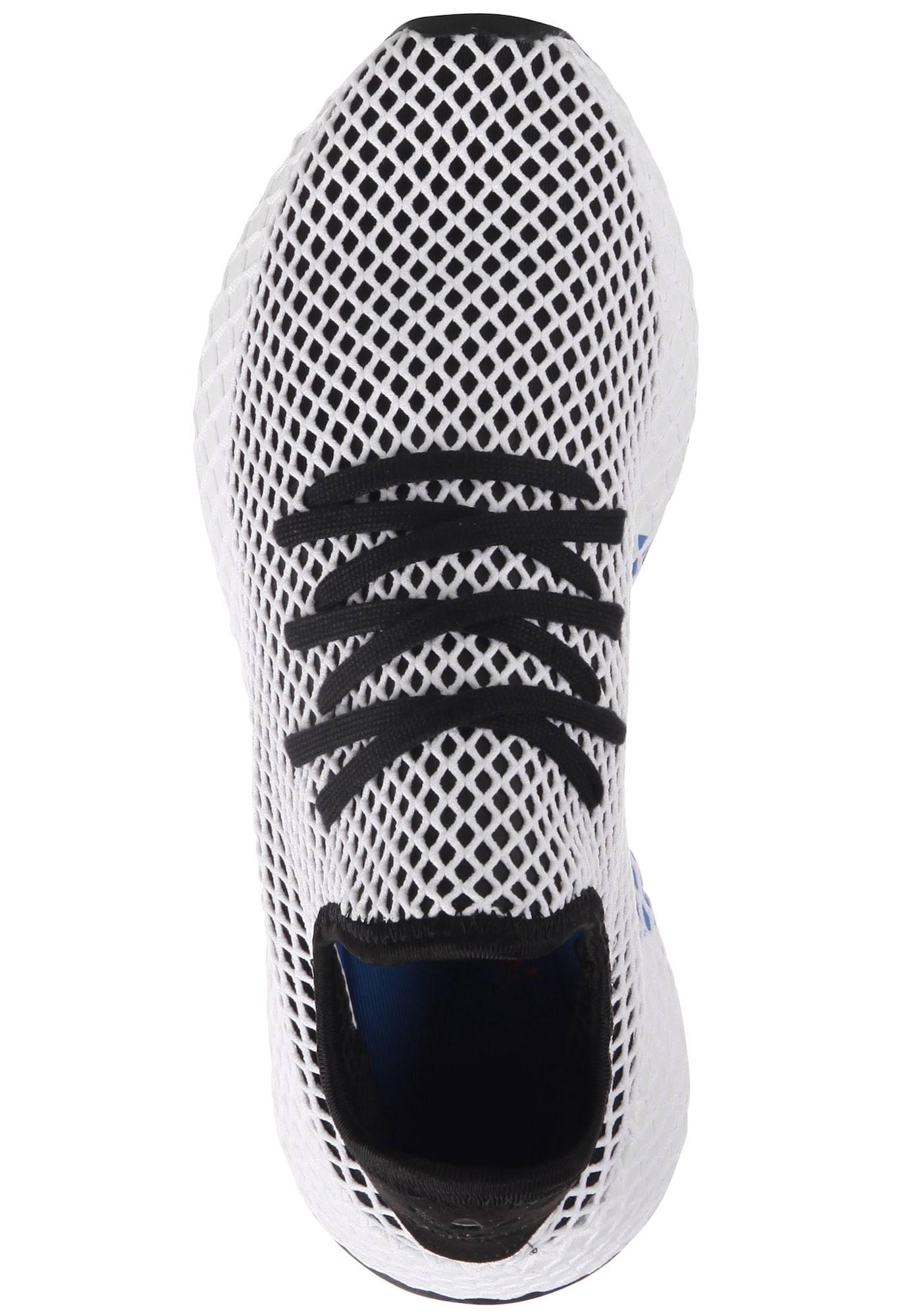 Basketballschuh 2 Deerupt Größe 42 Runner weiß Originals Adidas Schwarz Herren 3 8Xnxwp5