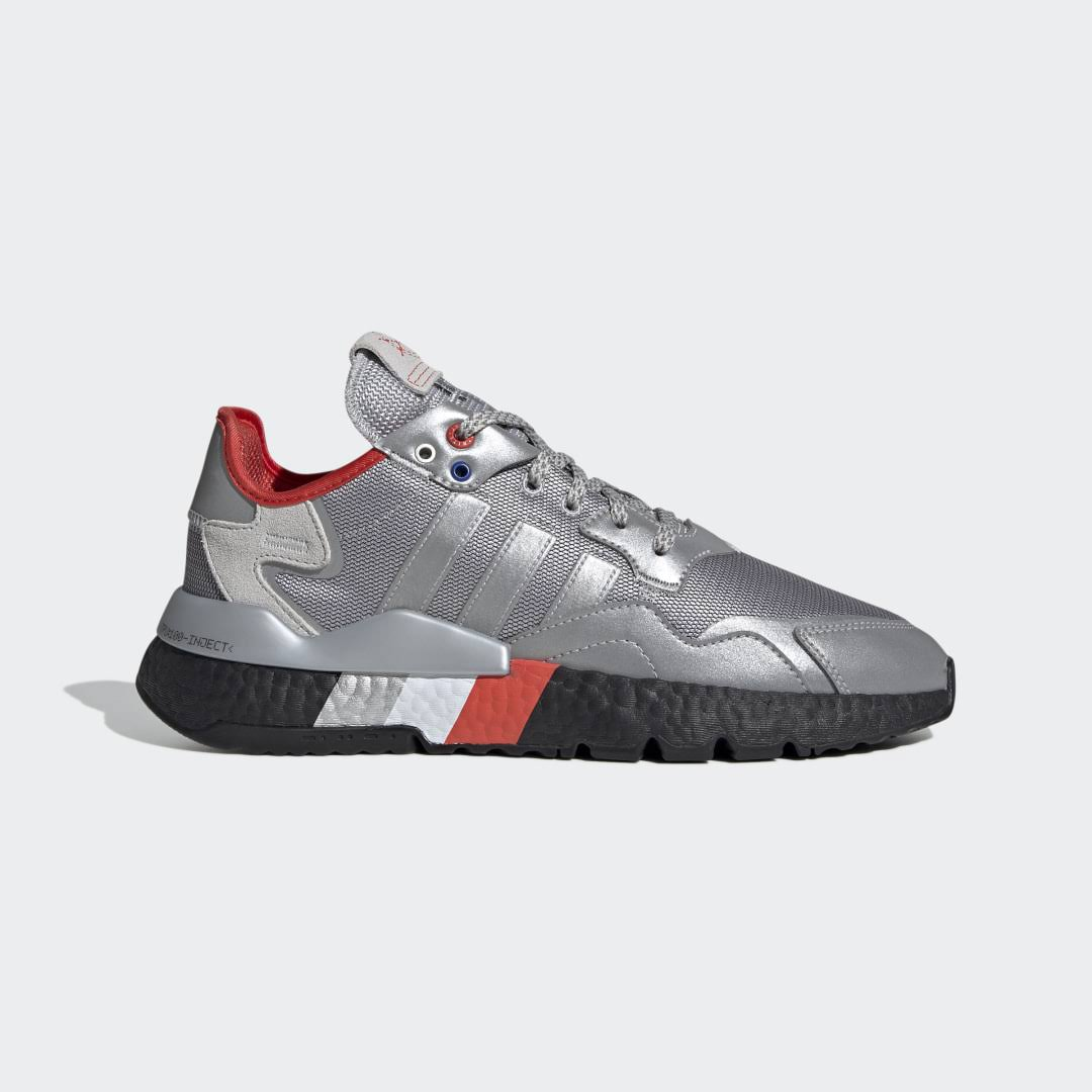Adidas Nite Jogger - Metallic Silver