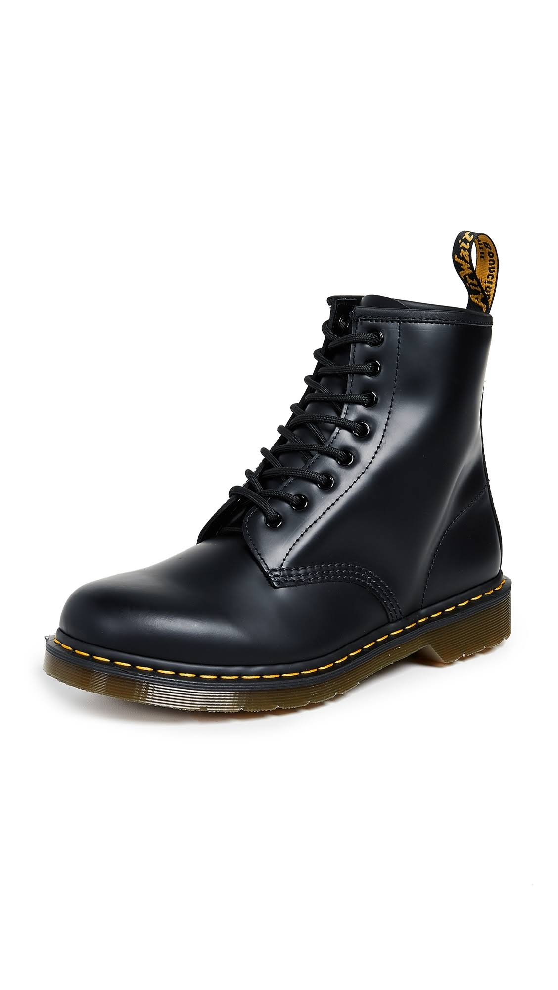 Boot Dr Smooth Black Medium 1460 8 Martens BBaq1WE
