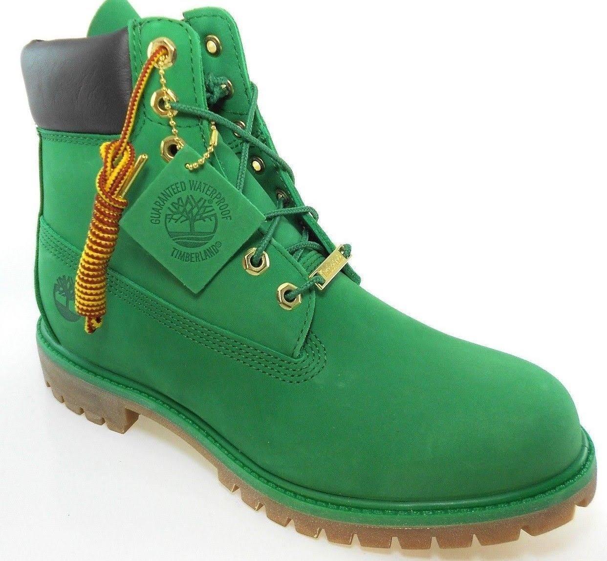 Timberland 11 Scuro Pollici Boot 5 Rosso GreenMarrone Impermeabile Celtic Premium 6 SneakersTaglia 'wintergreen' Mens kwXZTOiuP