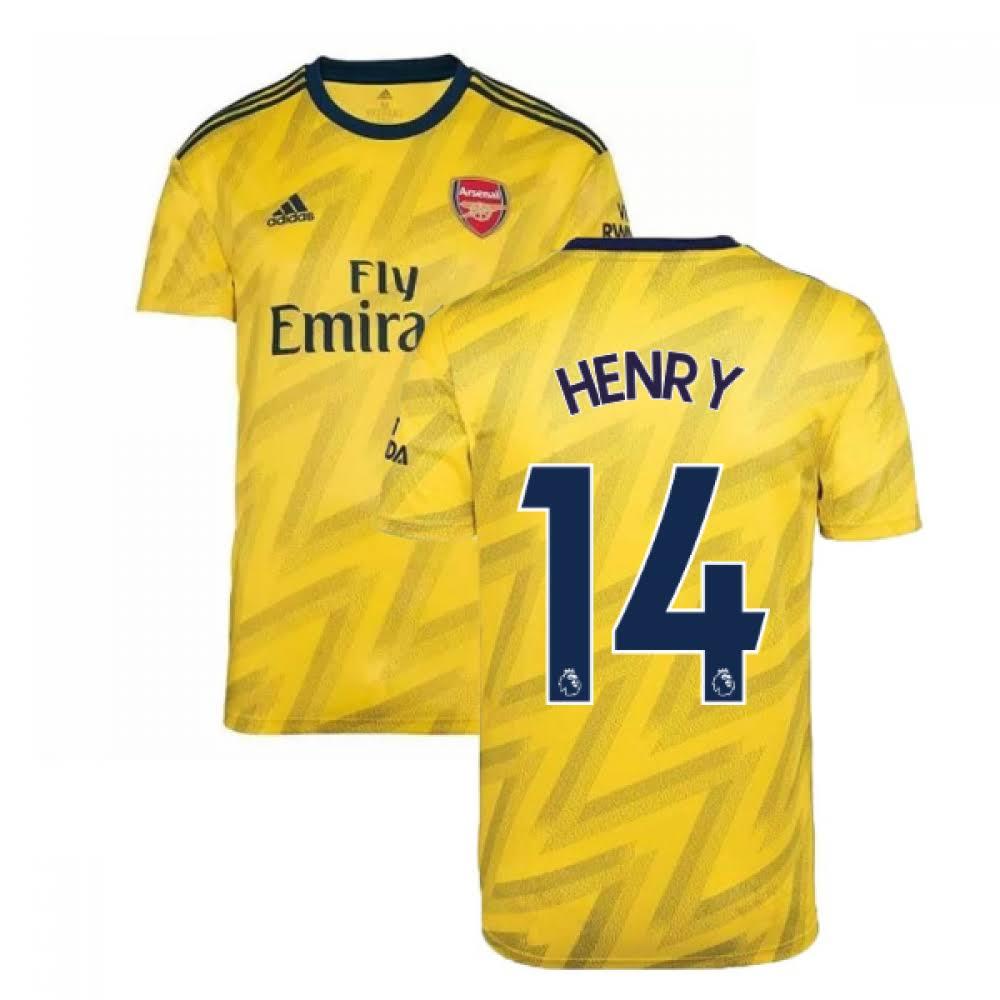 2019-2020 Arsenal Adidas Away Football Shirt (HENRY 14)