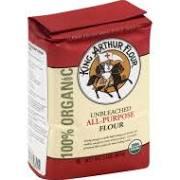 King Arthur Organic Unbleached All Purpose Flour - 2 lb bag