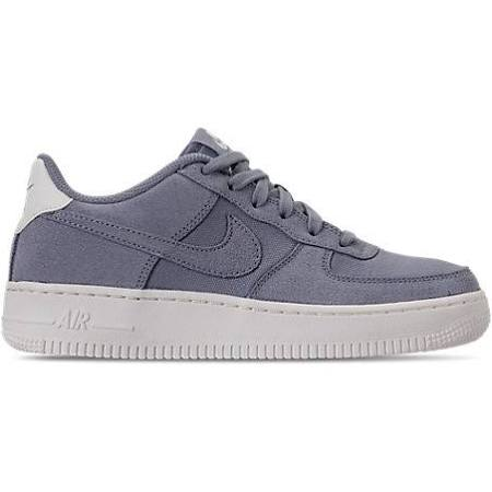 Boys Tamaño 1 'big Force Casuales 0 Gris Zapatos Air Suede Kids' Nike 7 dB4wxd