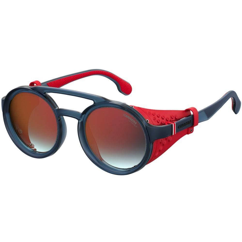 S rosse a Matte Occhiali soleLenti Black da Blue specchio Carrera5046 bgfy76