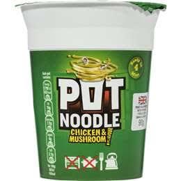 Pot Noodles Chicken & Mushroom 94g