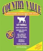 Country Value Dry Cat Food for Adult Cat Chicken Flavor 20 Pound Bag