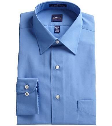 Klassisches 34 Größe 35 Langärmliges 18 Blau Arrow Herrenhemd 5 0S5wq5xB