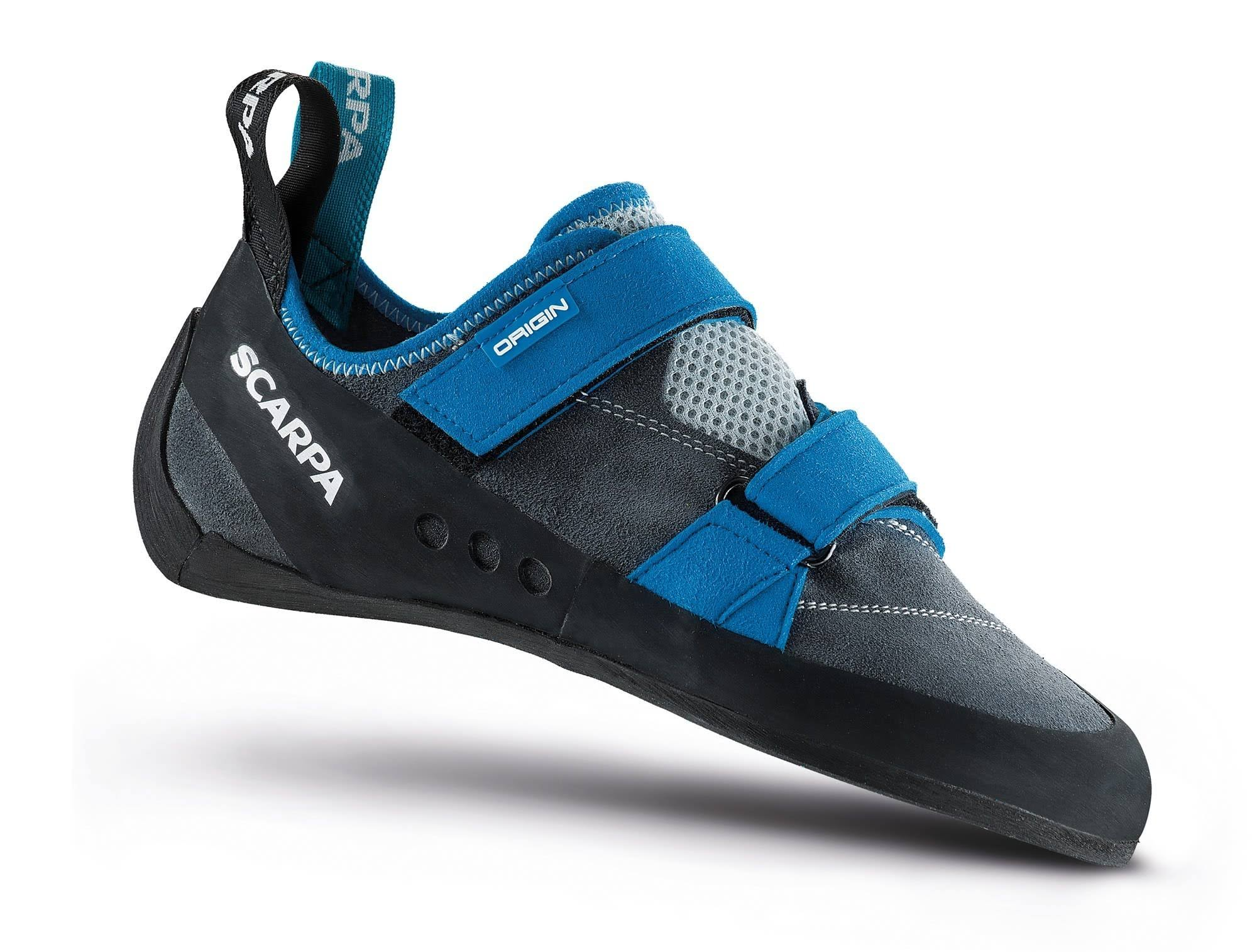 45 Origin Scarpa Shoes Gray Iron Climbing f1zxqzX