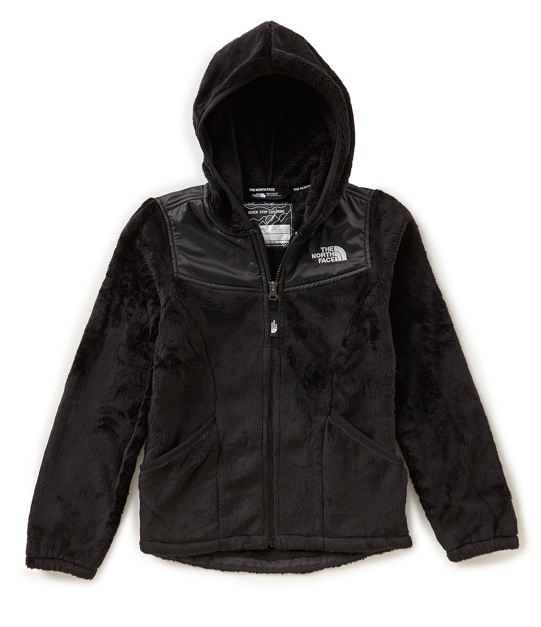 Hoodie Face Oso North Girls Schwarz Xs Kinder The Tnf qOI67nxwS5