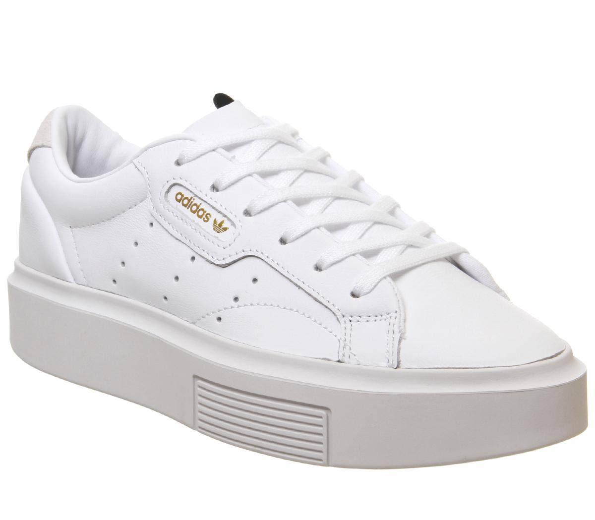 Adidas Sleek Super Shoes - White - Women