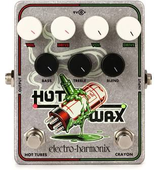 Electro-Harmonix Hot Wax Dual Overdrive Pedal
