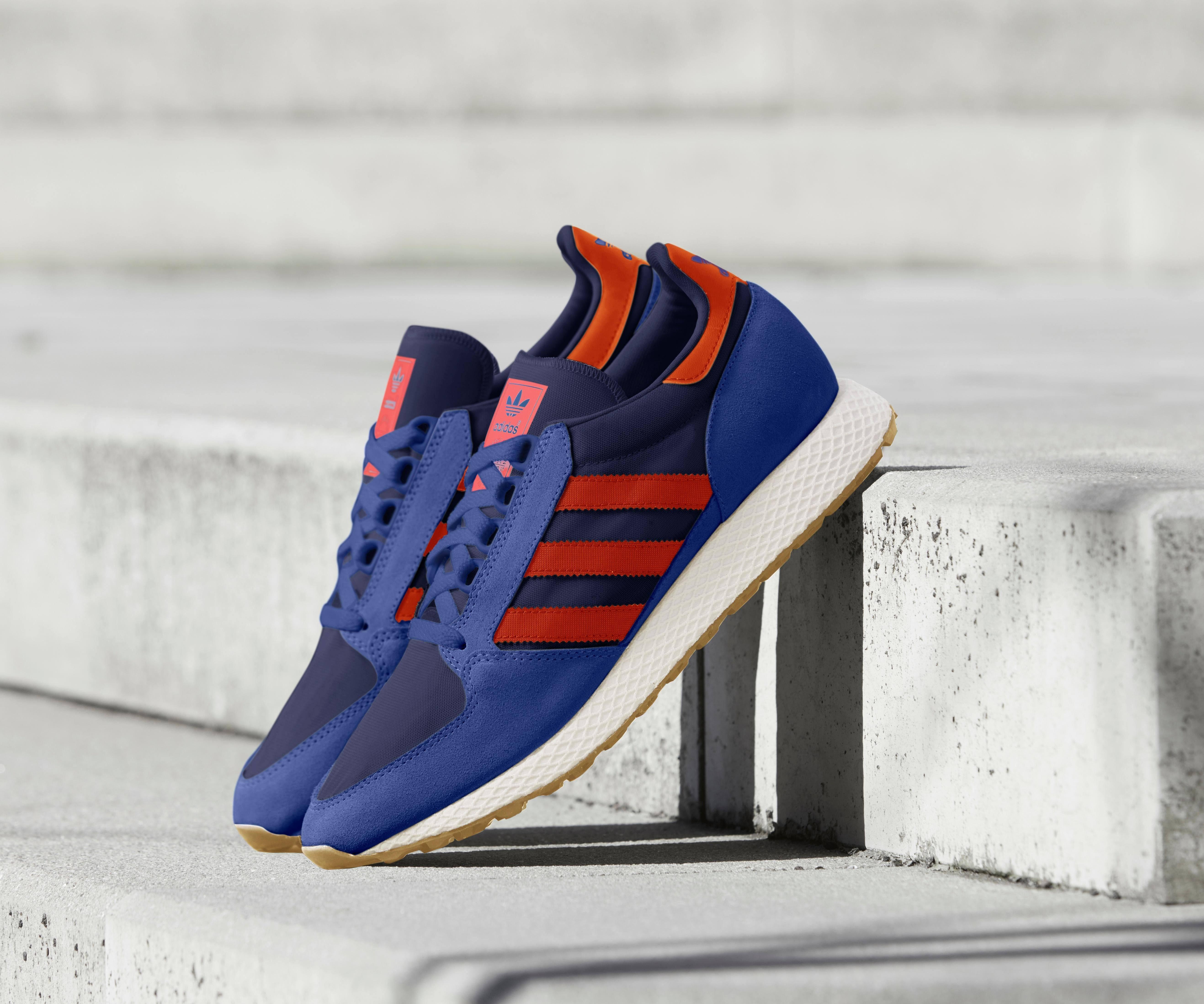 Grove Adidas Forest B38002 Originals Blau q1S1B76