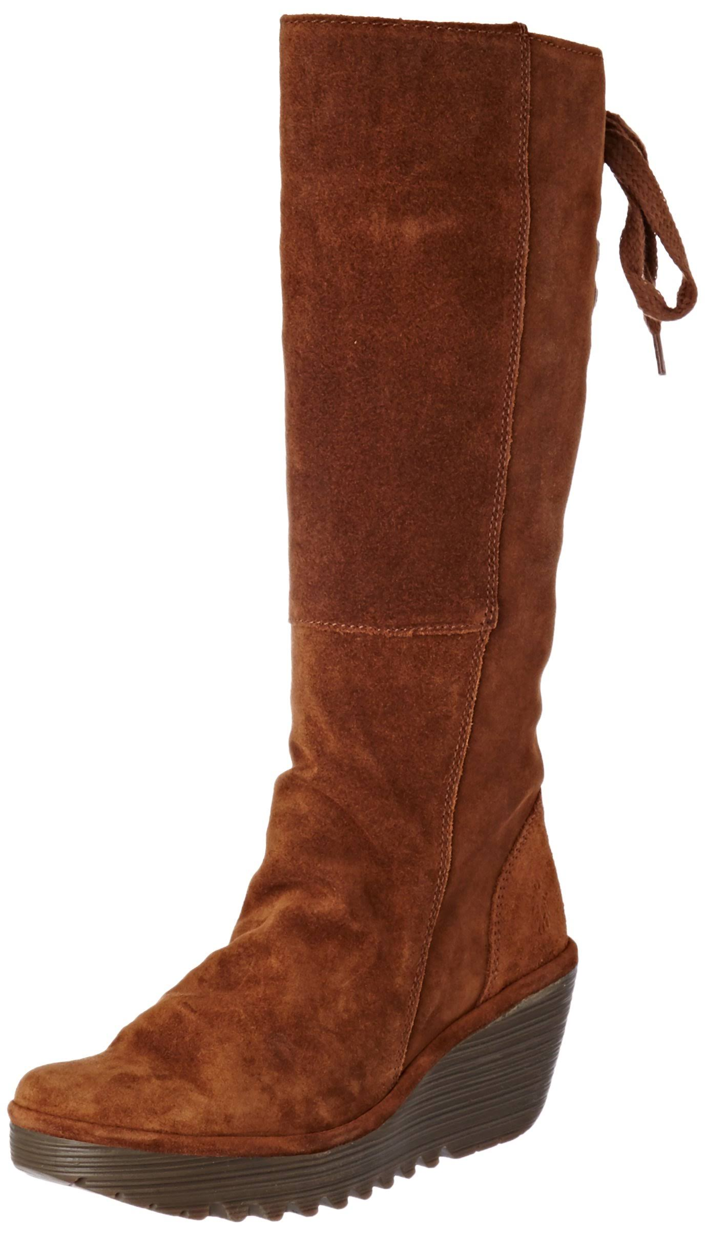 Eu Women's camel camel Fly Boots London 6 39 Yust Brown Uk zRwq4wpf