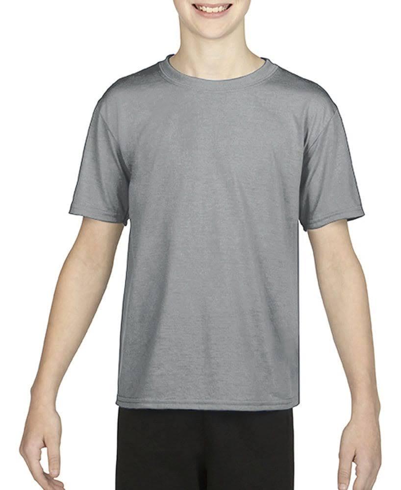 Gran Core Gildan 7 G460b 4 Camiseta Juvenil Rendimiento Grava Oz fw7qf8T