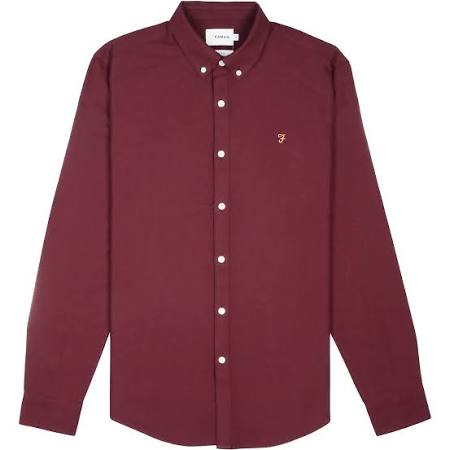 Fit Camiseta Brewer X Bordeaux Farah Slim small 50PxO