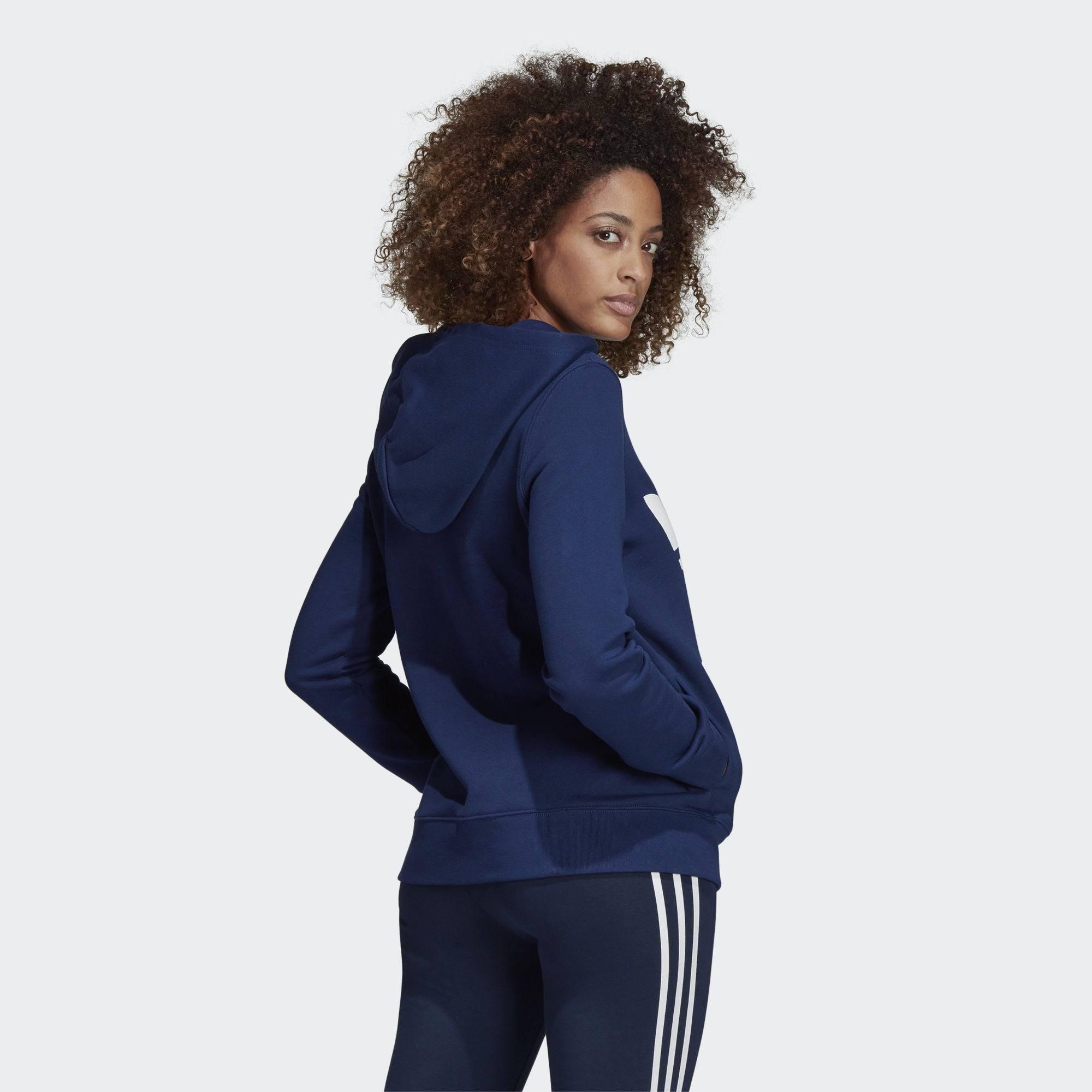 Foncé Trefoil Bleu Capuche À Sweat Originals Adidas AwqafnUY