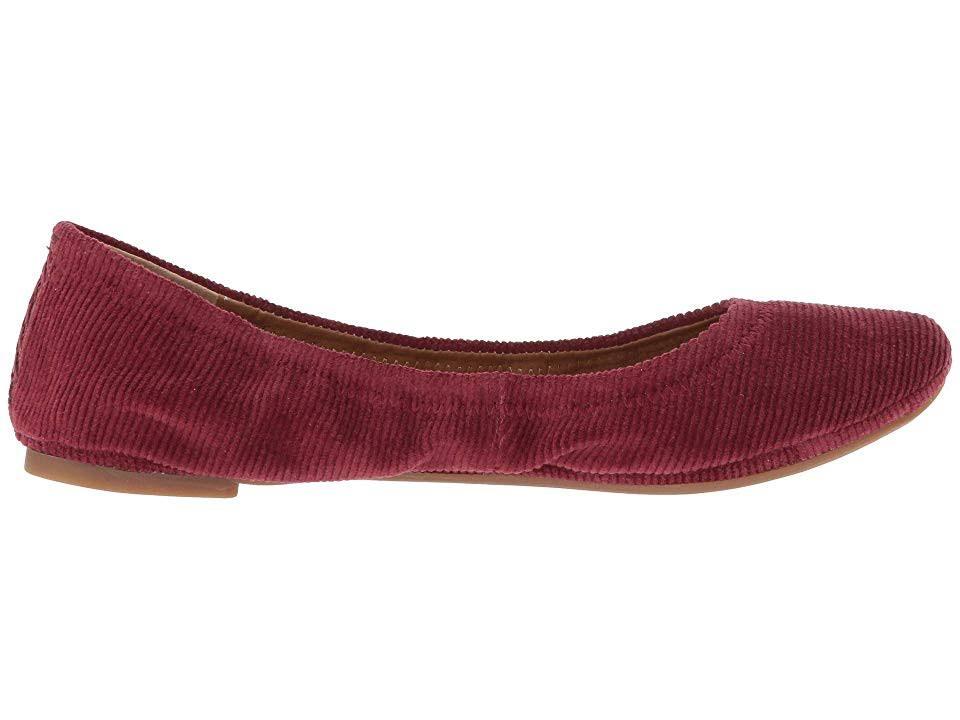 Emmie Platte Lucky Raisin6 M Stretch Fabric damesschoenen Cord Light Brand rsthCQd