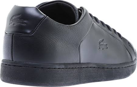 Up 3 Spm black U Black 118 118 10 Leather Evo Carnaby Lacoste Mens Black Sneakers Size Lace HwqtzXA