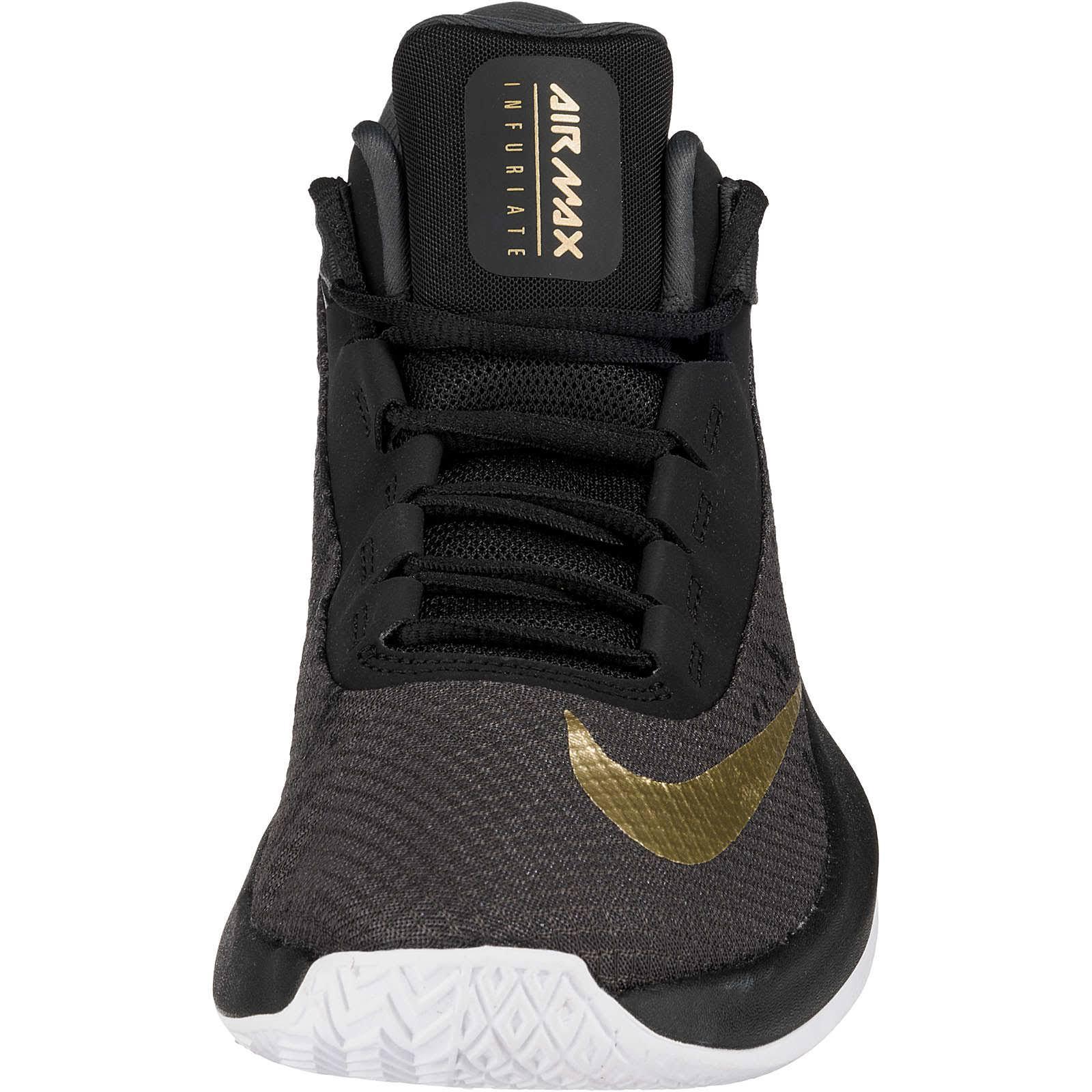 44 Nike Anthrazit 10 Air us 2 Max Basketball Mid Infuriate X1nXBrqvw