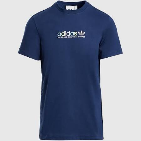 Mens Adidas Originals Colour Smash T-Shirt Men's - Blue - M