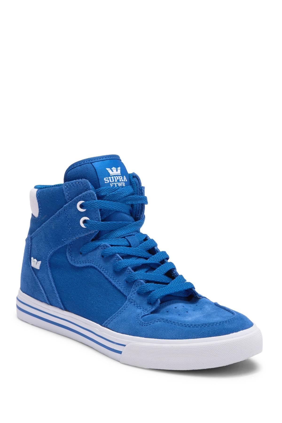 Zapatos Nordstrom Blanco Hombre Y De Ocean En Para Supra Piel Altas Ante Top Zapatillas High Vaider Rack PqwW60zCH