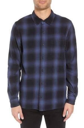 Plaid Para Hombre Franela De Weston Jeans Hudson Camisa nS7wXqxSZ8