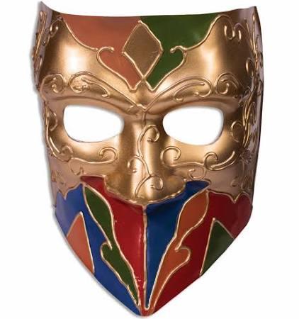 Bufón De Máscara Oro Clásico Adultos Para Rqvxg6wF