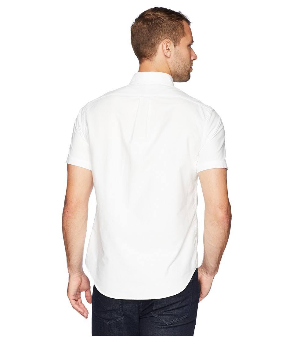 Baumwollhemd Lauren Klassisches Ralph Weiß Klassisches Polo 6p7qFC