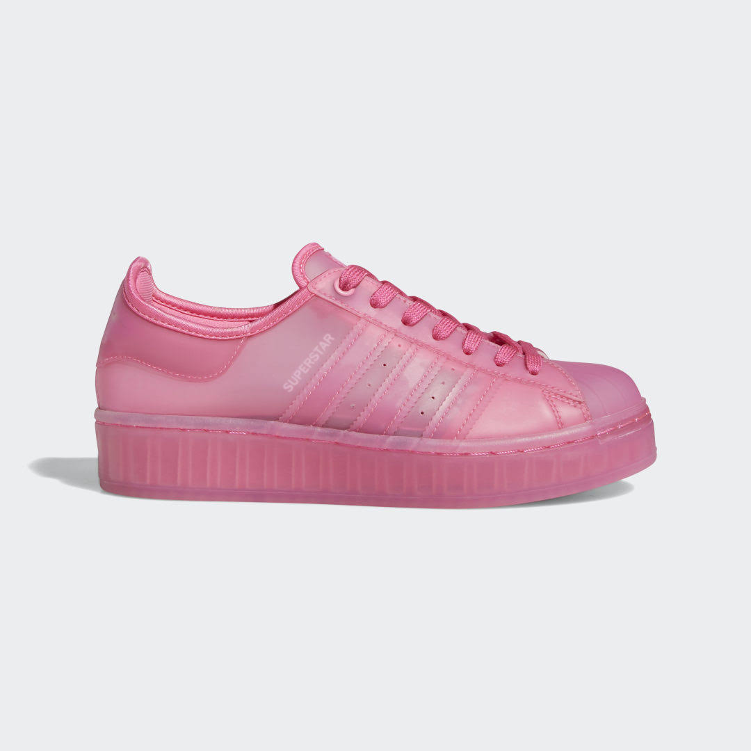 Adidas Superstar Jelly Shoes - Womens - Pink