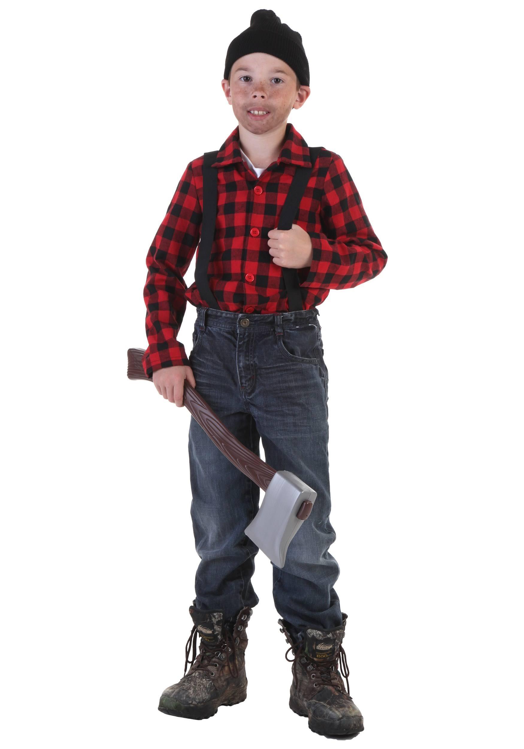 bambini da per bambini per da boscaiolo boscaiolo Costume Costume per da boscaiolo Costume 2I9YWHED