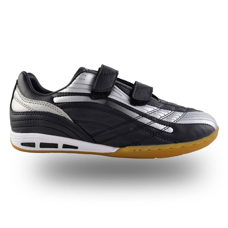 Rucanor Veeze-V Indoor Indoor Soccer Shoe Junior - Black/Silver Grey - 30