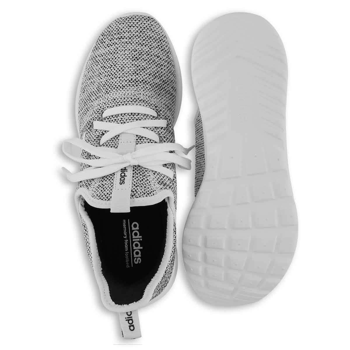 Da Donna Cloudfoam Corsa Nero Nucleo Scarpa Adidas Pure BiancoFtwr wN8nm0
