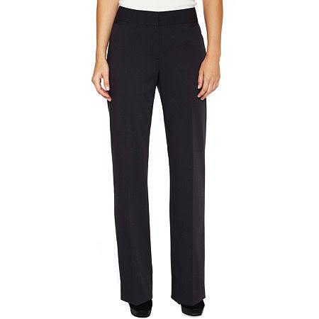 Pantalon Femmes Droite Liz Classique Coupe Noir Taille Audra 4 Claiborne axqnnA5FZ
