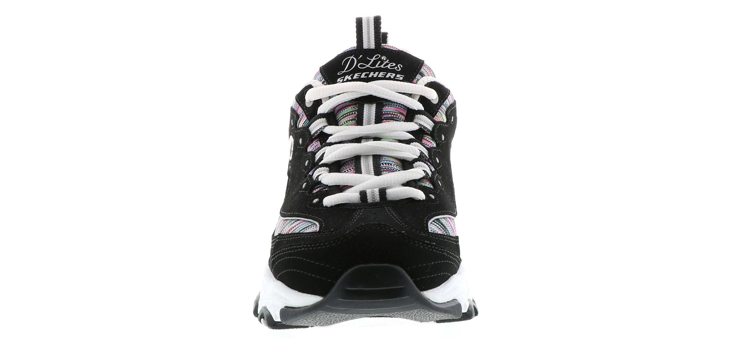 D'lites Skechers 0 Interlude Black Shoes 11 Athletic Wide Para Mujer qCdOC