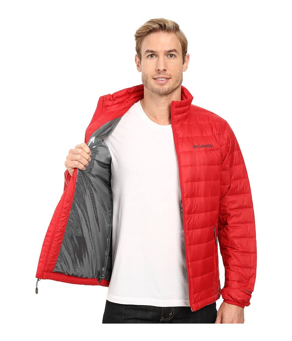 Red Voodoo Columbia 590 Herren Falls Lg Jacke Mountain Regular Für Turbodown qwTH6wn78