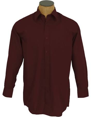 ds3001 Outlet Color Vestir Algodón Ntp Camisa Sunrise 3536 Mezcla Sólido Hombre De Para 185 dbrwn P4wx1qa
