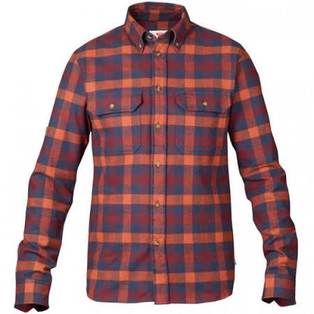 Shirt Hombres Forest Blusa Navy S Fjallraven RXx5qT0x