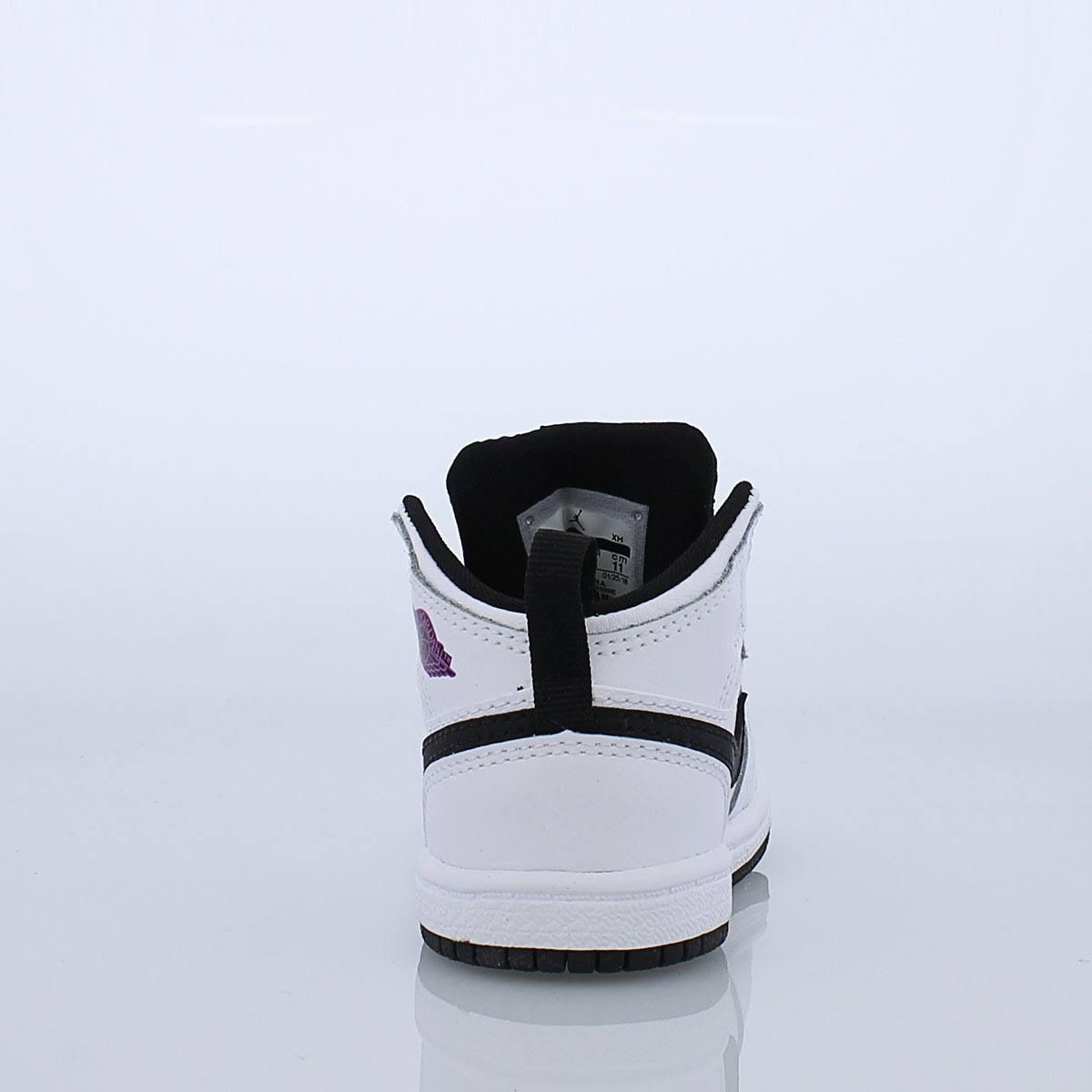 Mid Jordan Blanco Niño 1 infante Pequeño qa5zp6