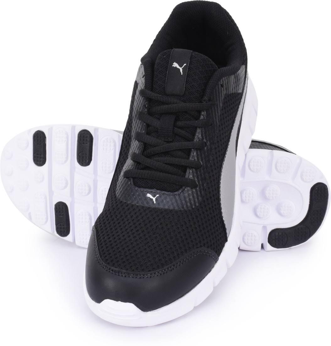 Plata Walking V2 Puma Negro Blur Shoes Men For v0UZxwA